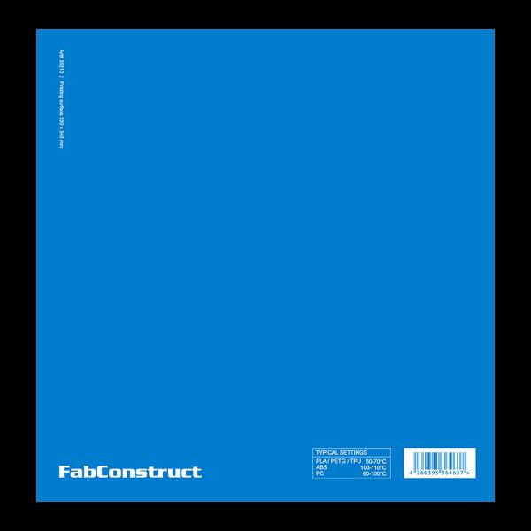 FabConstruct Printing surface 330 x 340 mm für Raise Pro2 und N2 Serie
