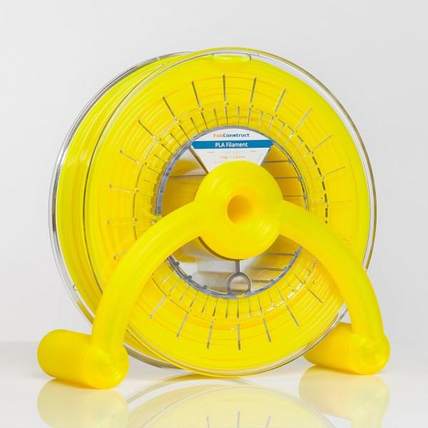 Fabconstruct PLA 2.85mm 750g, neon gelb