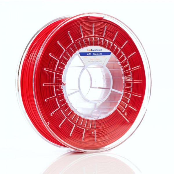 Fabconstruct ABS 2.85mm 750g, rot