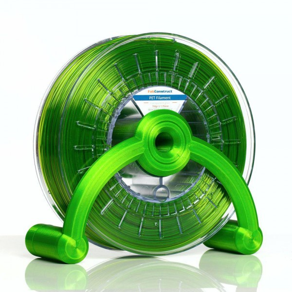 FabContruct PETG Filament 2,85mm grün transparent 750g